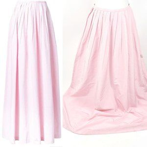 Michael Kors Onward Luxury runway pink silk skirt
